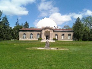 Perkins Observatory during the day